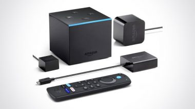 Amazon Fire TV Cube Introduced in India at Rs 12,999
